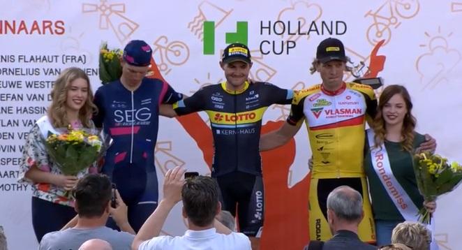 Joshua Hupertz – Team Lotto Kern Haus eerste Duitse winnaar AWM!
